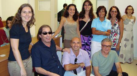 Marco Antônio de Queiroz (MAC) com pesquisadores do NAU